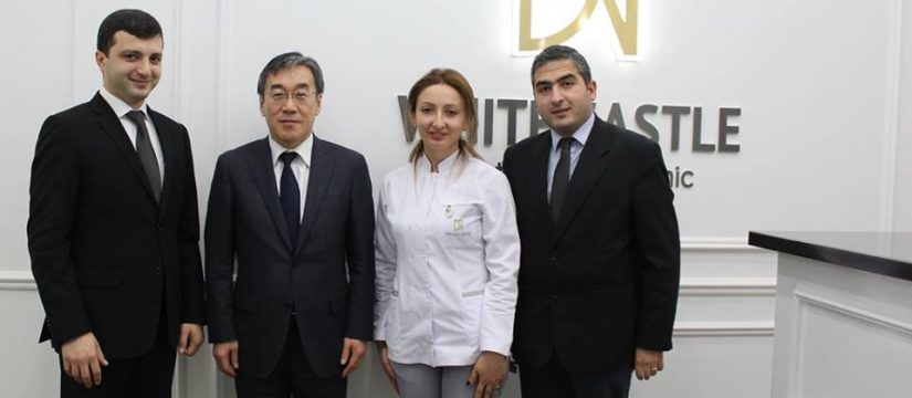 Japan Ambassador in Armenia visit White Castle